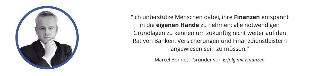 Erfolg mit Finanzen - Marcel Bonnet