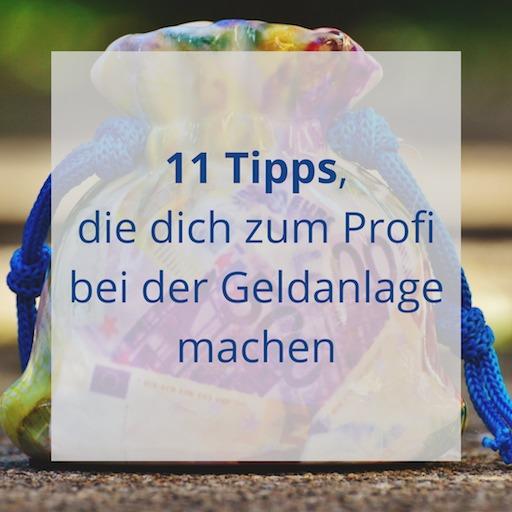 11 Tipps für die Geldanlage von Erfolg mit Finanzen