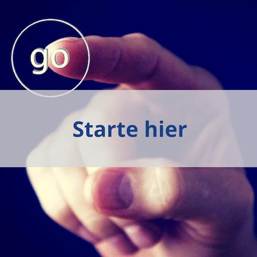 Starte hier-Seite von Erfolg mit Finanzen